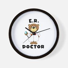 ER Doctor Wall Clock