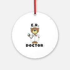 ER Doctor Ornament (Round)