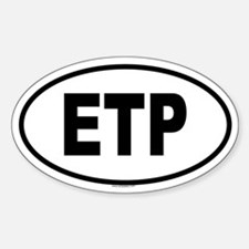 ETP Oval Decal