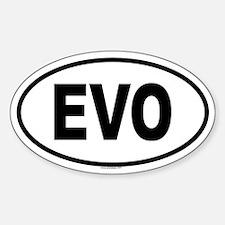 EVO Oval Decal