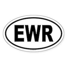 EWR Oval Decal