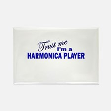 Trust Me I'm a Harmonica Play Rectangle Magnet