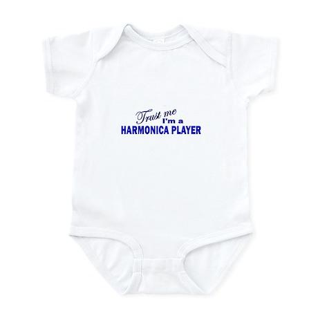 Trust Me I'm a Harmonica Play Infant Bodysuit