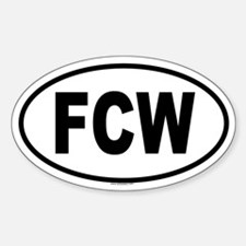 FCW Oval Decal