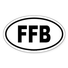 FFB Oval Decal