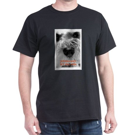 Schnauzer Nose Dark T-Shirt