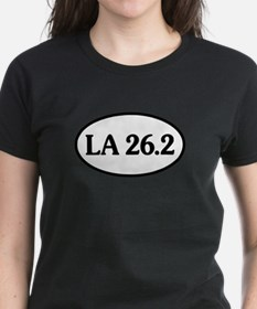 Los Angeles 26.2 Oval Tee