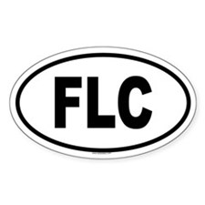 FLC Oval Decal