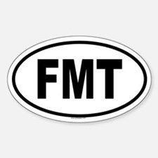 FMT Oval Decal