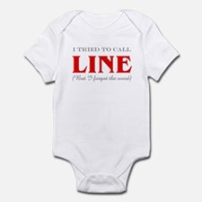 """Tried to Call Line"" Infant Bodysuit"
