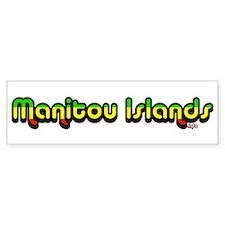 manitouislands.info Bumper Bumper Sticker