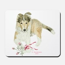 Collie Puppy Mousepad