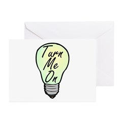 Turn On Greeting Cards (Pk of 20)