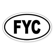FYC Oval Decal