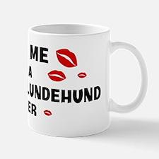 Kiss Me: Norwegian Lundehund  Mug