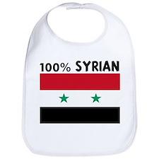 100 PERCENT SYRIAN Bib