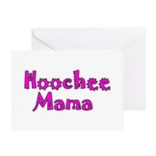 Hoochie Greeting Card
