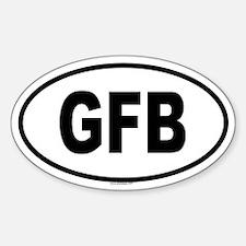 GFB Oval Decal