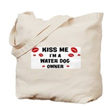 Kiss Me: Water Dog owner Tote Bag