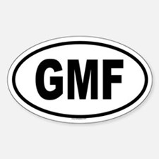 GMF Oval Decal