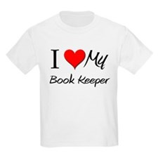 I Heart My Book Keeper T-Shirt