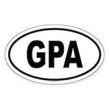 GPA Oval Decal