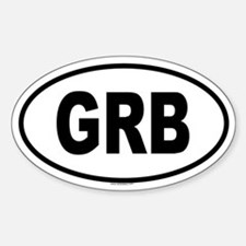 GRB Oval Decal