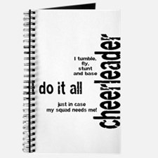 "Cheerleader ""I Do It All"" Journal"