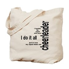 """Cheerleader """"I Do It All"""" Tote Bag"""