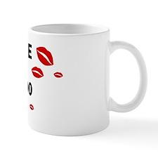 Kiss Me: Lhasapoo owner Mug