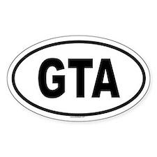 GTA Oval Decal