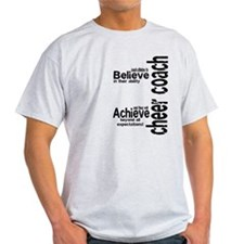"Cheer Coach ""believe"" T-Shirt"