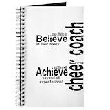 Cheerleading coach Journals & Spiral Notebooks