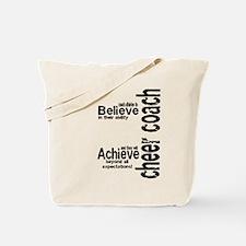 "Cheer Coach ""believe"" Tote Bag"