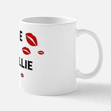 Kiss Me: Border Collie owner Mug