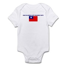 MADE IN AMERICA WITH TAIWANES Infant Bodysuit