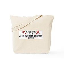 Kiss Me: Jack Russell Terrier Tote Bag