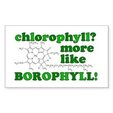 'Chlorophyll? More Like Borophyll!' Decal