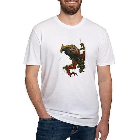 Ukiyoe Hawk Fitted T-Shirt
