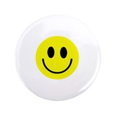 "Happy Face 3.5"" Button"