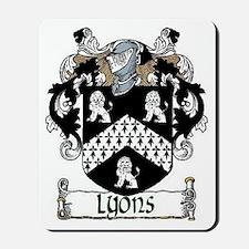 Lyons Coat of Arms Mousepad