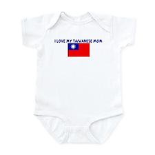 I LOVE MY TAIWANESE MOM Infant Bodysuit