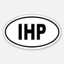 IHP Oval Decal