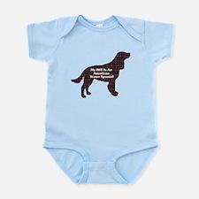 American Water Spaniel Infant Bodysuit