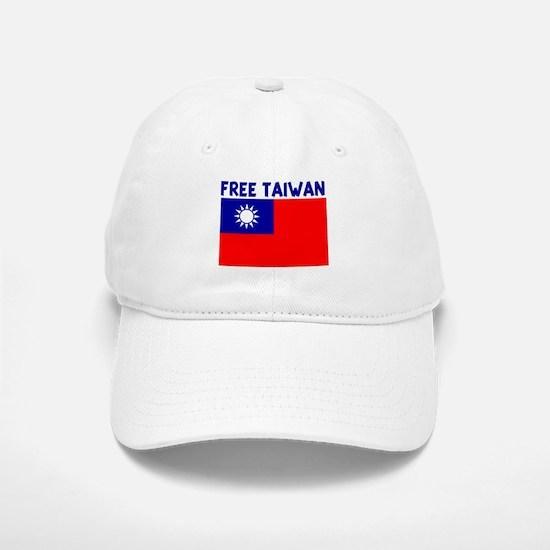 FREE TAIWAN Baseball Baseball Cap