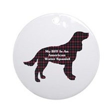 American Water Spaniel Ornament (Round)