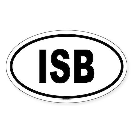 ISB Oval Sticker