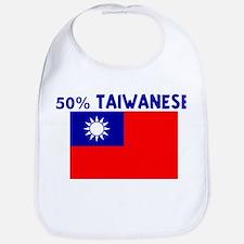 50 PERCENT TAIWANESE Bib