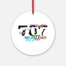 707 Ornament (Round)