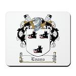 Evans Family Crest Mousepad